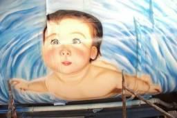Grafiteiro bau caminhão lohas empresas