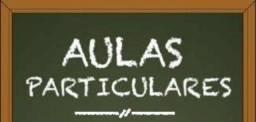 Aulas - Professor Particular - Inglês e Matemática