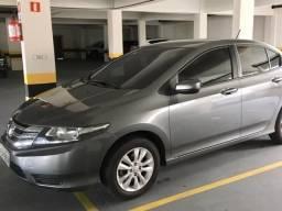 Honda City 1,5 Lx, Automático (flex) 16V - 37.200Km . Cinza Metálico . 13/13 - 2013