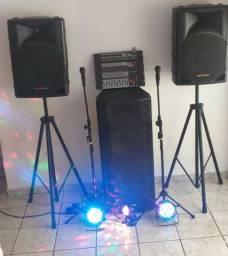 Som, para festas e eventos.... watts.9.9703.9936