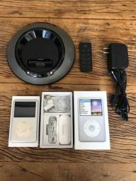 IPod Classic (ger7) 160gb + Dock Station Jbl On Stage III