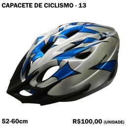 Capacete de Ciclismo Azul
