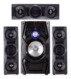 Mini System Bluetooth Áudio 3.1 Entrada Usb 60w