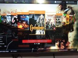 Vende-se Xbox 360 com HD de 500 destravado vários jogos instalados