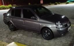 Clio sedan 1.6 16v completo 04/05