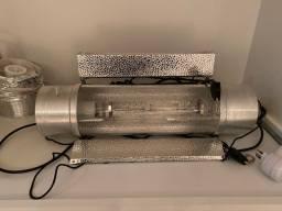 Luminária para cultivo - grow. Cool tube 1000w