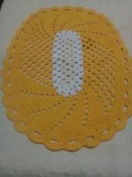 Vendo ou troca tapetes de crochê