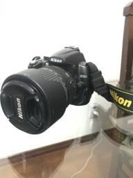 Nikon D5000 + lente 18-105mm + GPS