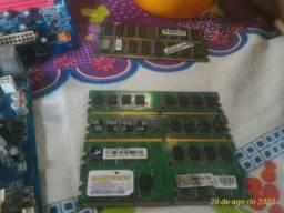 Memória RAM ddr2 de 512 Mg