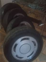 Jogo de roda aro 14 orbital