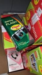 Título do anúncio: Câmera descartável quicksnap fujifilm 27 poses