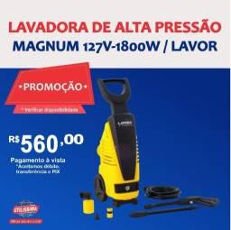 Título do anúncio: Lavadora de Alta Pressão Magnum 127V/50-60HZ ? Entrega grátis