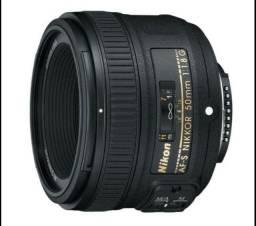 Lente e câmera lente 50 mm