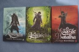 Kit 3 livros conjurador. Livro de Taran Matharu