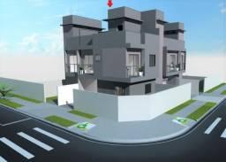 Sobrado de esquina à venda com 3 quartos, 60 m² + 20 m² de terraço, próximo a Nicola Pelan