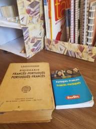 2 dicionários Francês/Português por 15$