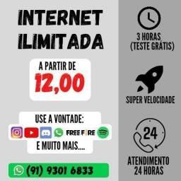 Título do anúncio: Internet I L I M I T A D A