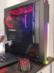Computador PC Gamer AMD Ryzen c/ placa de vídeo. Roda tudo ( não inclui monitor )