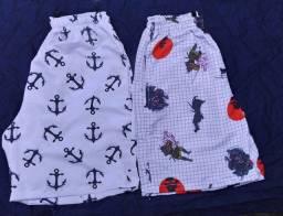 Shorts Masculinos Moda Praia