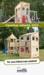 Título do anúncio: Casinhas Infantis e Playgrounds