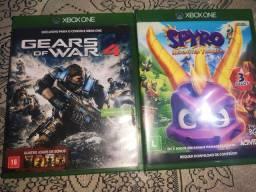 Título do anúncio: Dois jogos de xbox one