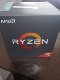 Ryzen 2600 - Acompanha cooler wraith stealth