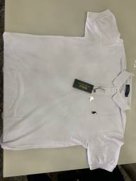 Título do anúncio: Camisa Polo Ralf Lauren - Branca GGG