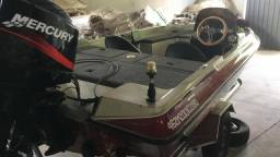 Bass boat trick como motor 90