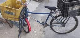 Título do anúncio:  Bicicleta carguera, revisada dois pneu novo