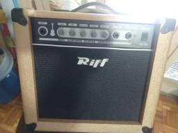 Caixa acústica para violão