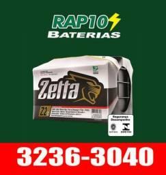 Bateria zetta 60AH Bateria de carro Bateria do Celta Palio Uno Punto Gol