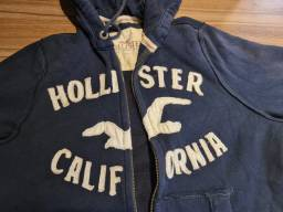 Moletom HOLLISTER azul