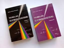 Título do anúncio: Combo Teoria do Eletromagnetismo Machado Vol 1 e 2 - livros universitários/Física