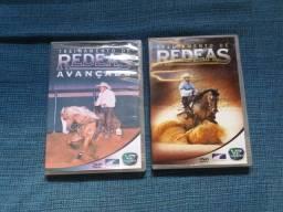 Dois DVDs treinador de redeas.