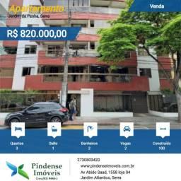 Título do anúncio: Apartamento em Jardim da Penha - Vitória, 03 quartos