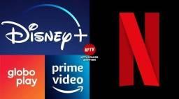 Título do anúncio: Netflix prime video Disney Premier Globo play