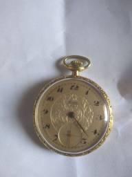 Título do anúncio: Relógio de bolso lanco 17 rubis