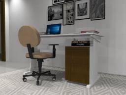 Título do anúncio: Mesa de Escritório. Texturas Frisadas. 105cm x 50cm x 74cm