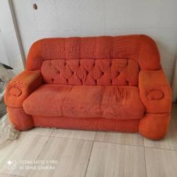 Título do anúncio: Vendo sofá usado,
