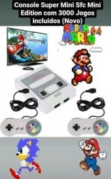 Console Super Mini Sfc Mini Edition com 620 Jogos incluidos (Novo).