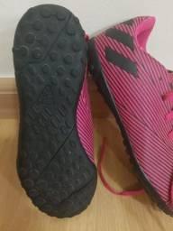 Título do anúncio: chuteira Adidas nemesis society.