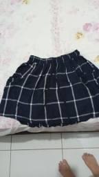 Título do anúncio: Short e saia curta estilo japonesa
