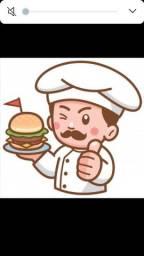 Título do anúncio: Trabalho como Chapeiro/auxiliar de cozinha