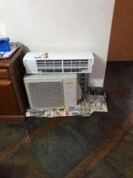 Título do anúncio: Ar condicionado fujitsu split inverter frio quente