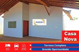 Título do anúncio: Casa Nova - 2 Dormitórios - Terreno Completo - Região Oeste