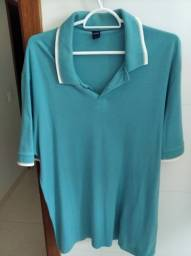 Título do anúncio: Lote 3 camisas Pólos Tamanho G - R$ 50,00 Fila e Hering