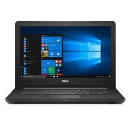 Vendo Notebook Dell Inspiron 14 novo, 3 meses de pouquíssimo uso