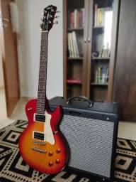 Título do anúncio: Guitarra Cort Les Paul Cr100