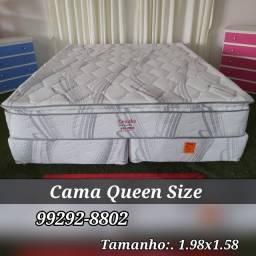 Título do anúncio: queen cama + cama queen +