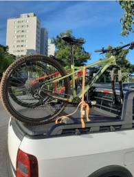 Título do anúncio: Rack Bike Saveiro  Eixo 9mm  3hm